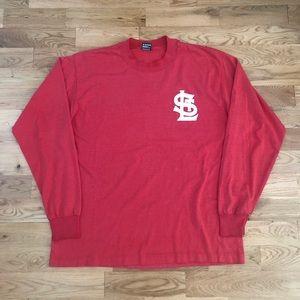 Vintage 90s St Louis Cardinals Long Sleeve T-Shirt